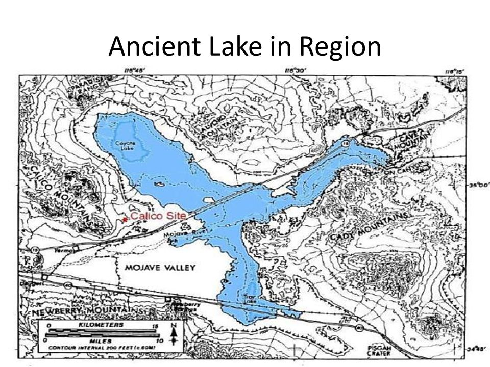 Ancient Lake in Region