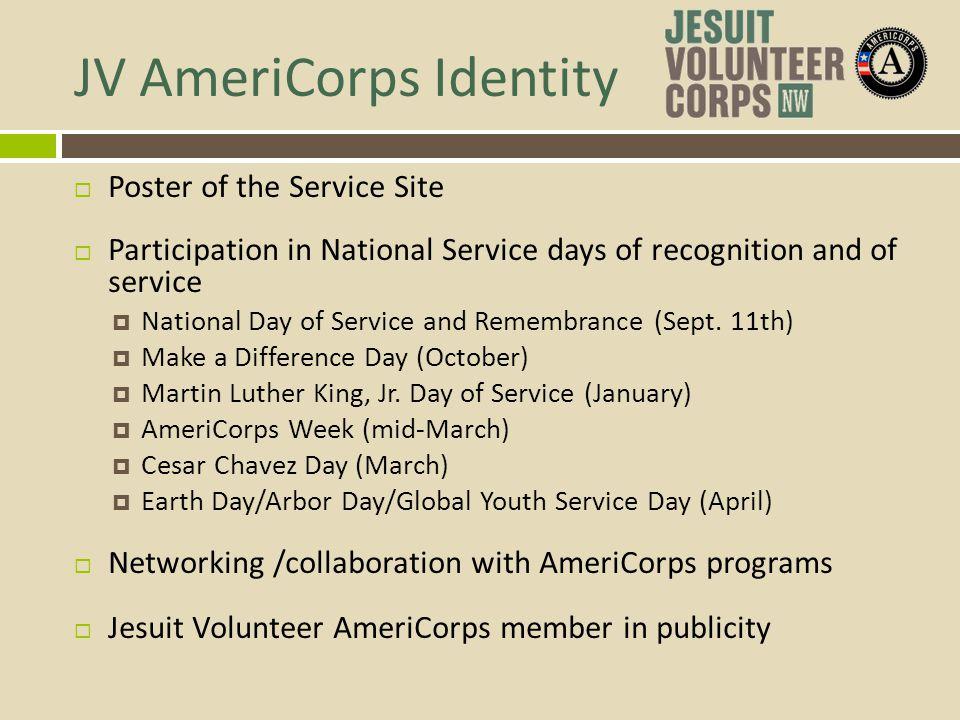 JV AmeriCorps Identity