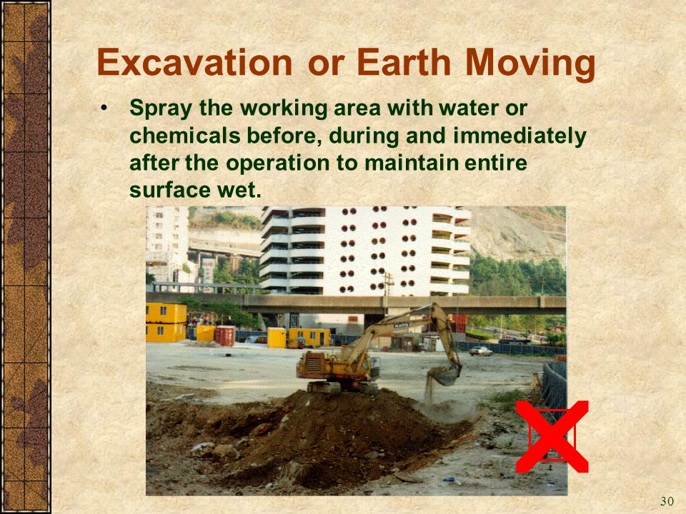 Excavation or Earth Moving