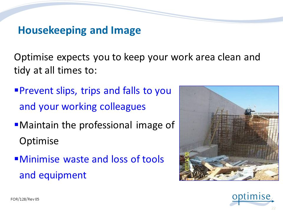 Housekeeping and Image