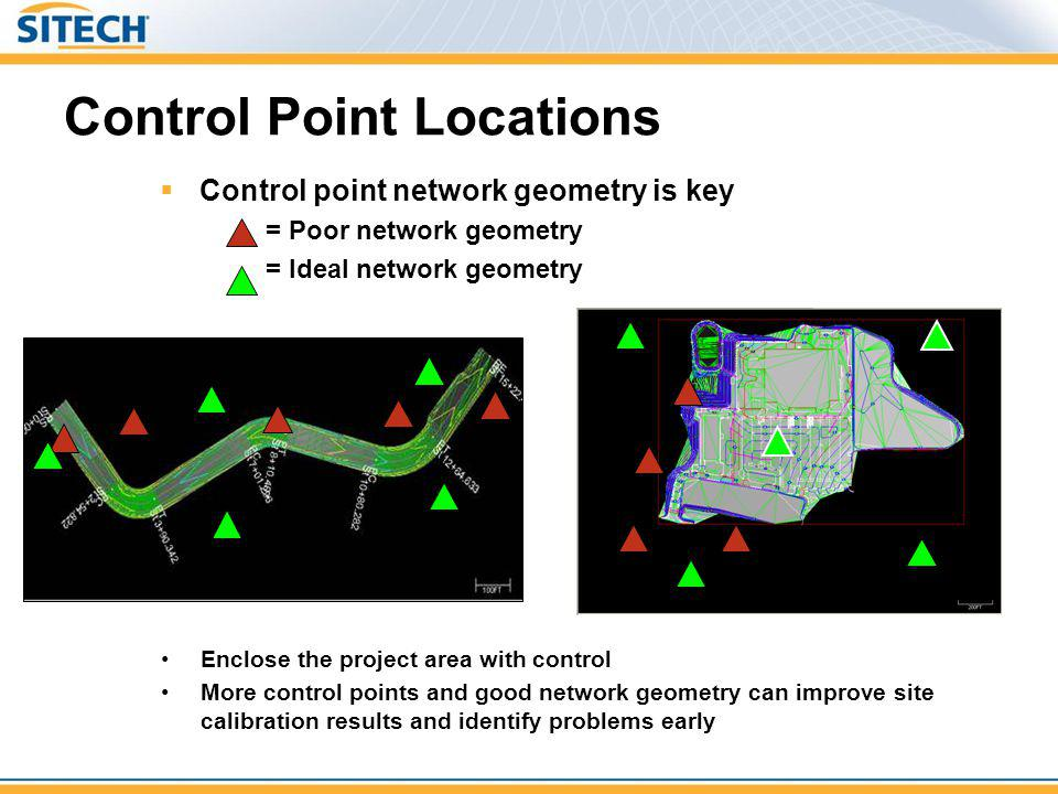 Control Point Locations