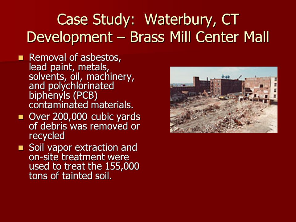 Case Study: Waterbury, CT Development – Brass Mill Center Mall