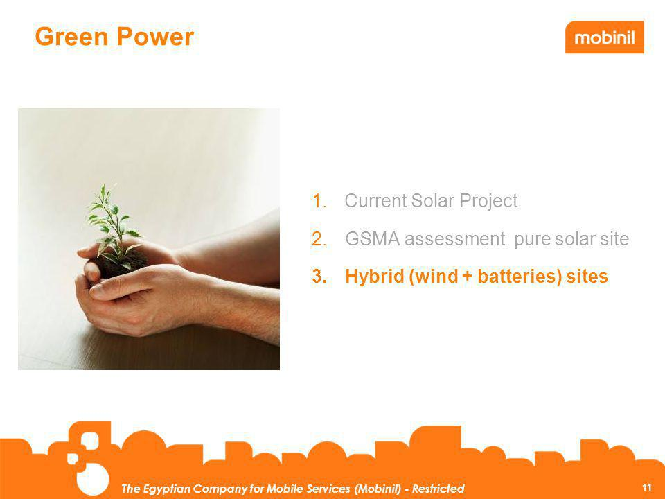 Green Power Current Solar Project GSMA assessment pure solar site