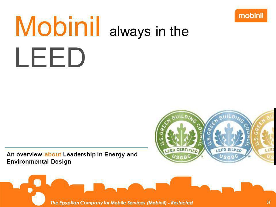 Mobinil always in the LEED