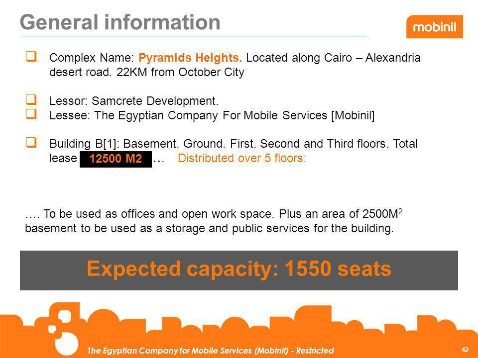 Expected capacity: 1550 seats