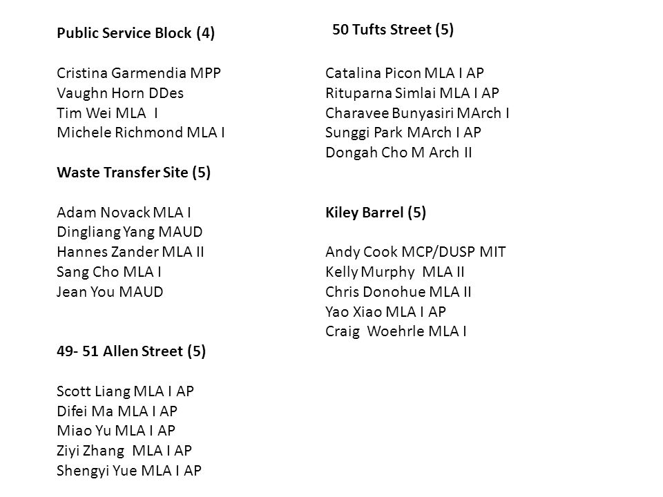 50 Tufts Street (5) Public Service Block (4) Catalina Picon MLA I AP