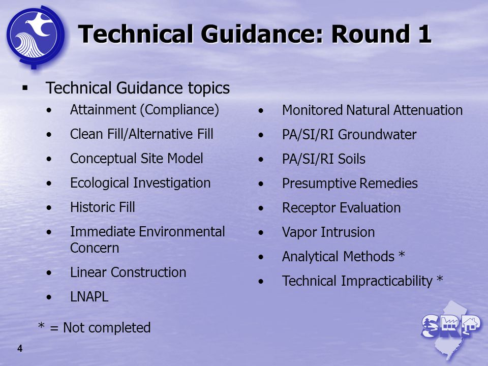 Technical Guidance: Round 2