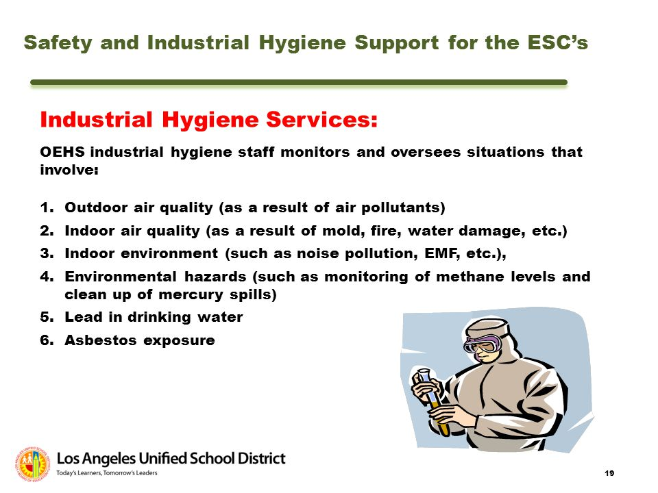 Industrial Hygiene Services: