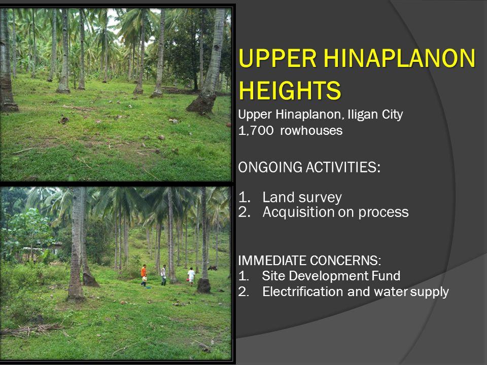 UPPER HINAPLANON HEIGHTS