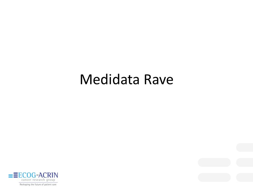 Medidata Rave