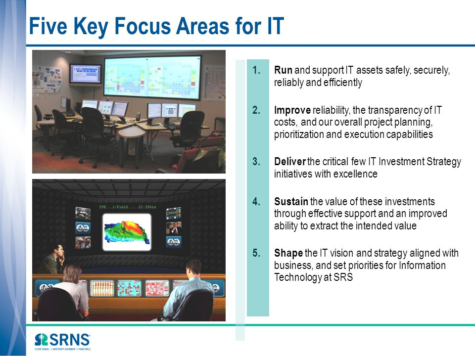 Five Key Focus Areas for IT