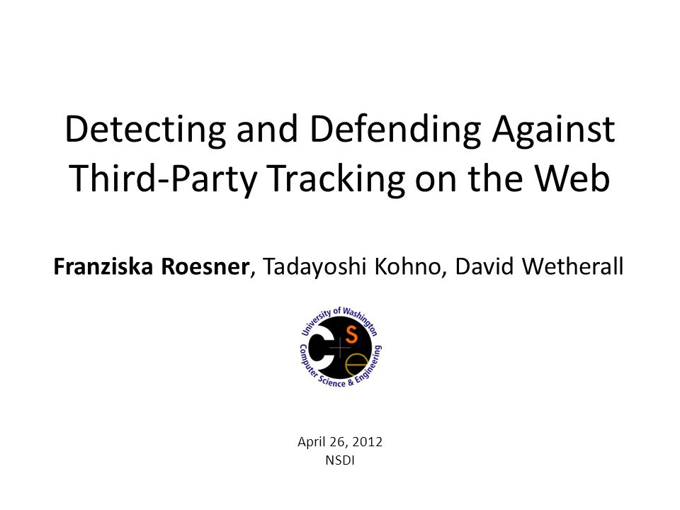Detecting and Defending Against Third-Party Tracking on the Web