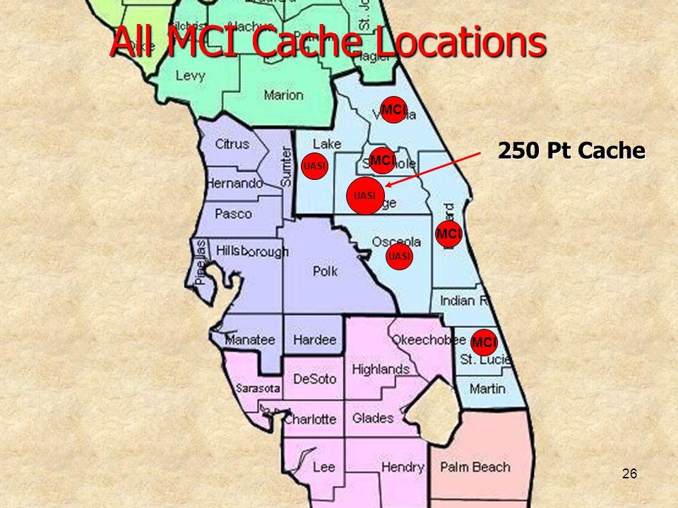 All MCI Cache Locations