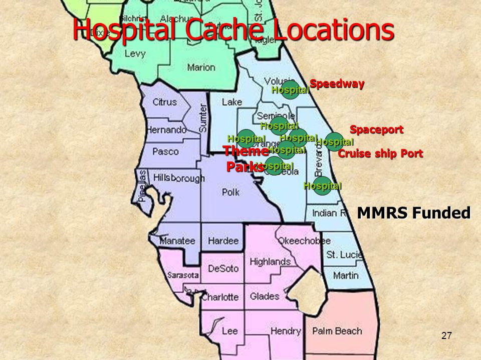 Hospital Cache Locations