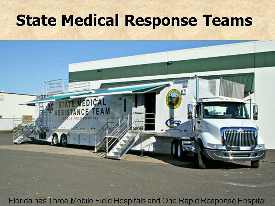 State Medical Response Teams