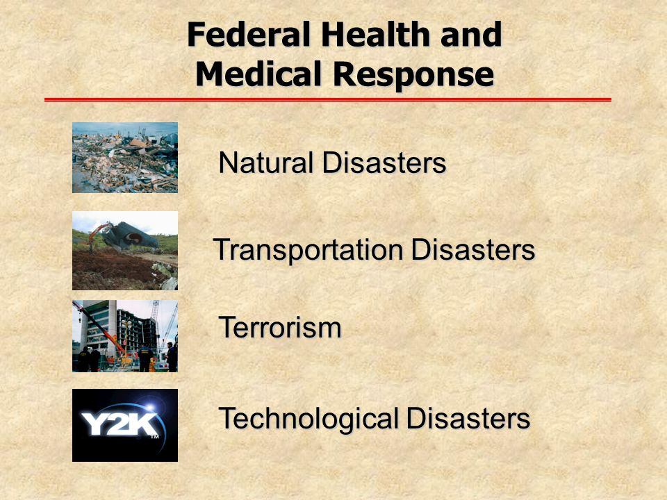 Federal Health and Medical Response