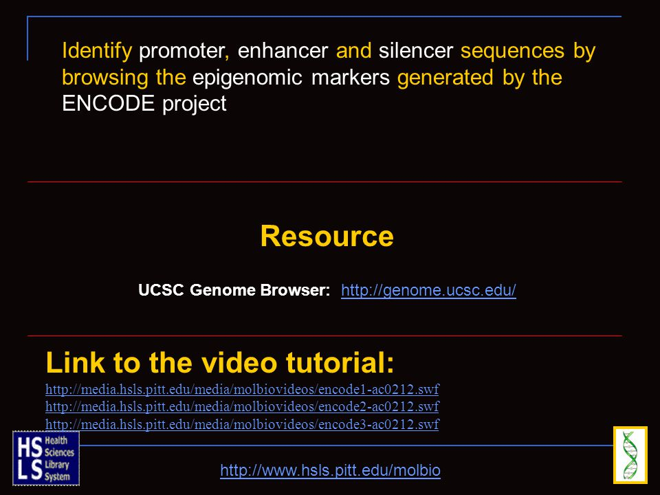 UCSC Genome Browser: http://genome.ucsc.edu/