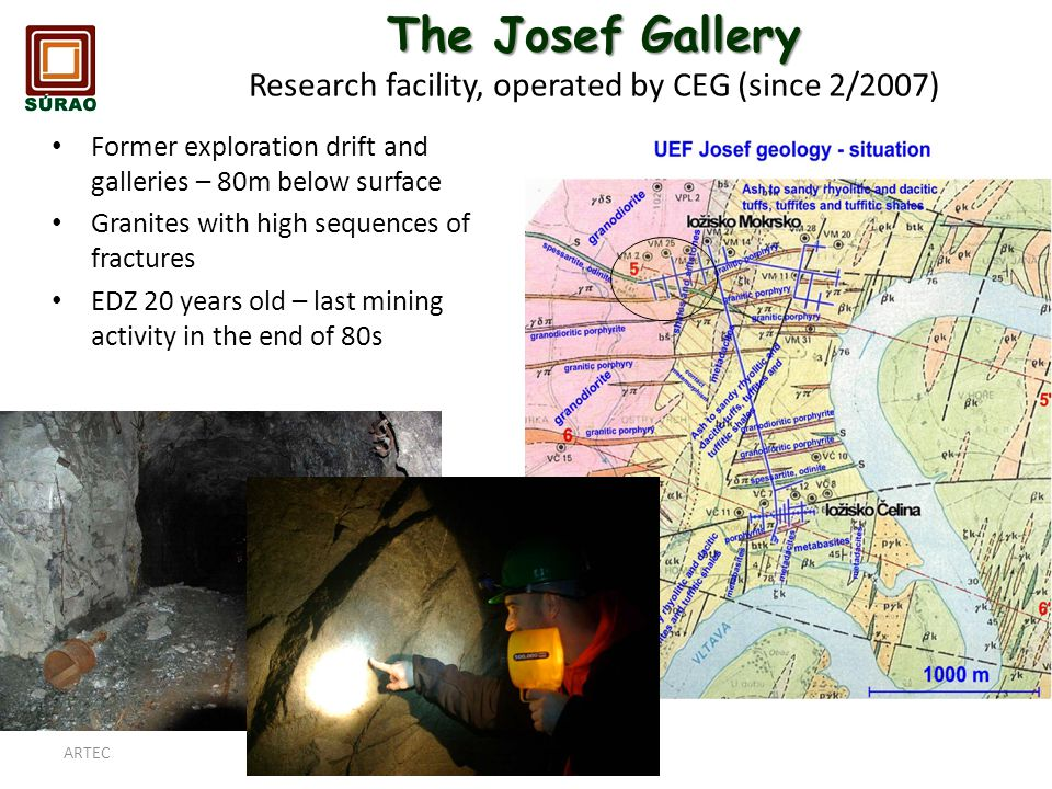 The Josef Gallery Research facility, operated by CEG (since 2/2007)