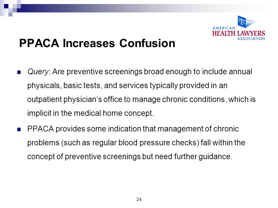PPACA Increases Confusion