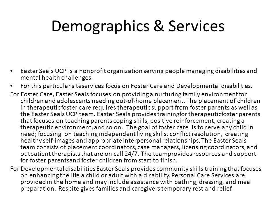 Demographics & Services