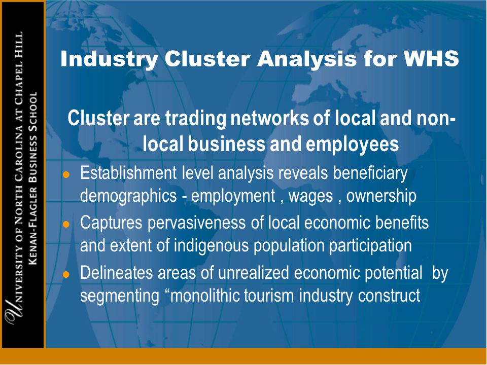 Industry Cluster Analysis for WHS
