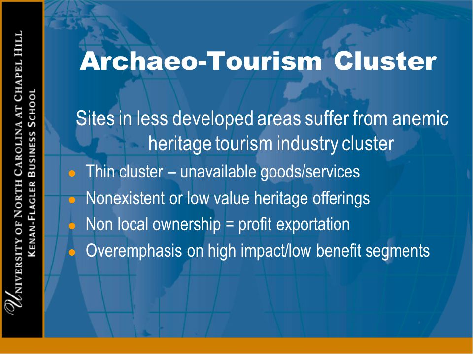 Archaeo-Tourism Cluster