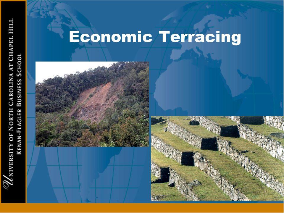 Economic Terracing External spending Imports