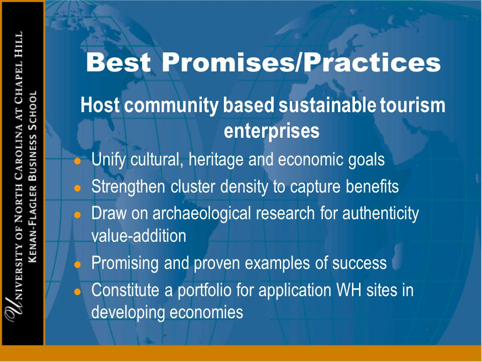 Best Promises/Practices