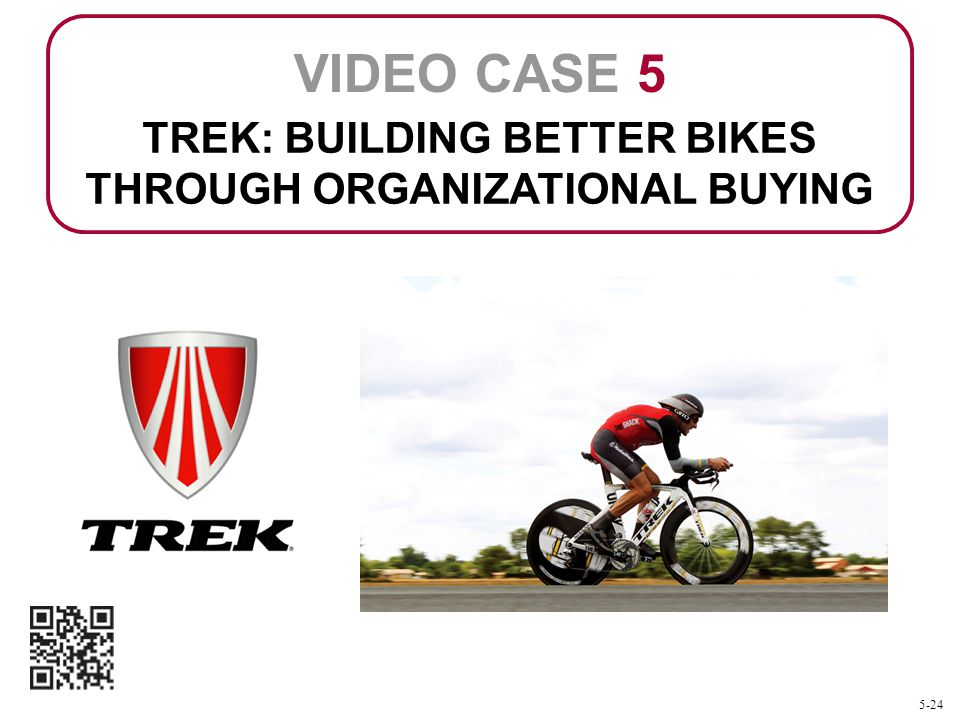 TREK: BUILDING BETTER BIKES THROUGH ORGANIZATIONAL BUYING