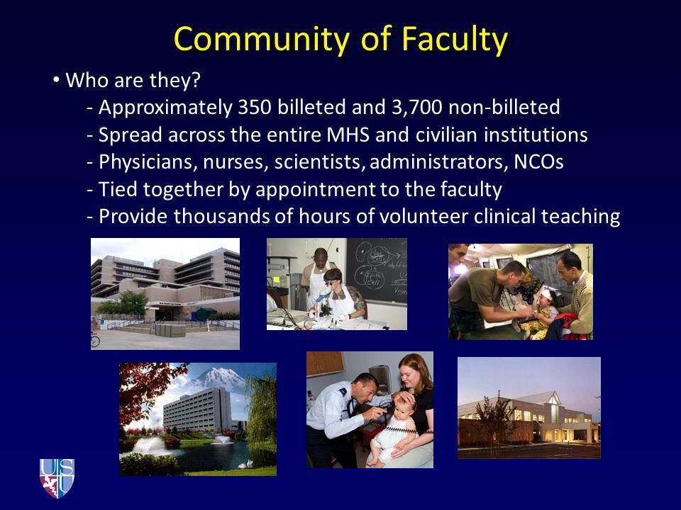 Community of Faculty Who are they