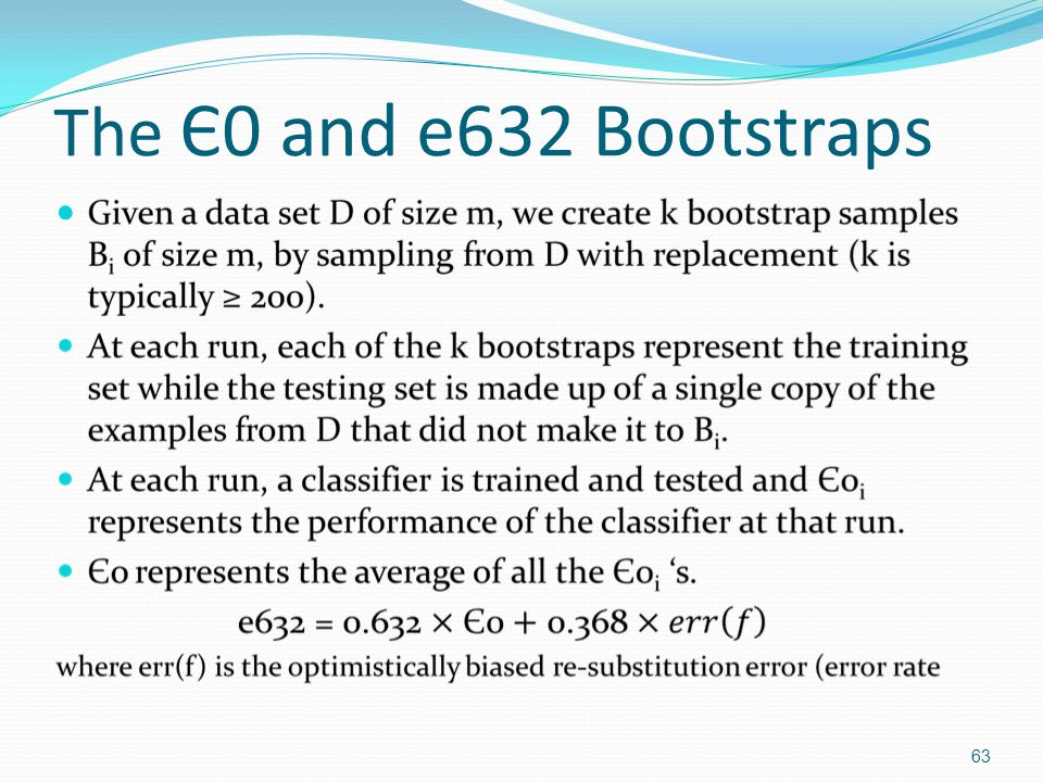 The Є0 and e632 Bootstraps