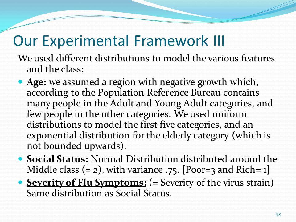 Our Experimental Framework III