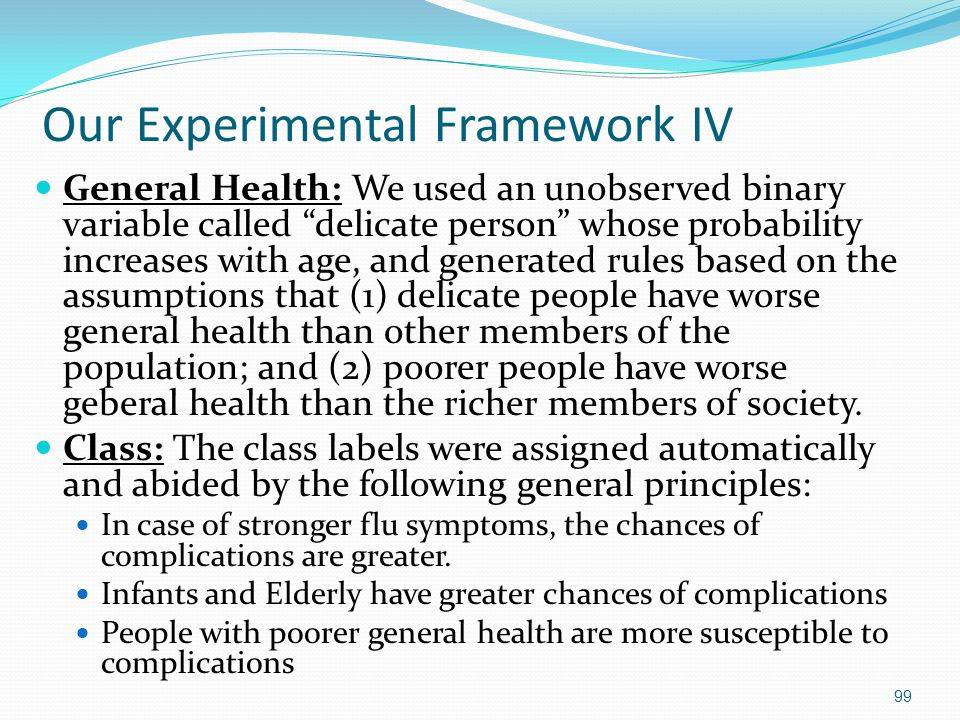 Our Experimental Framework IV