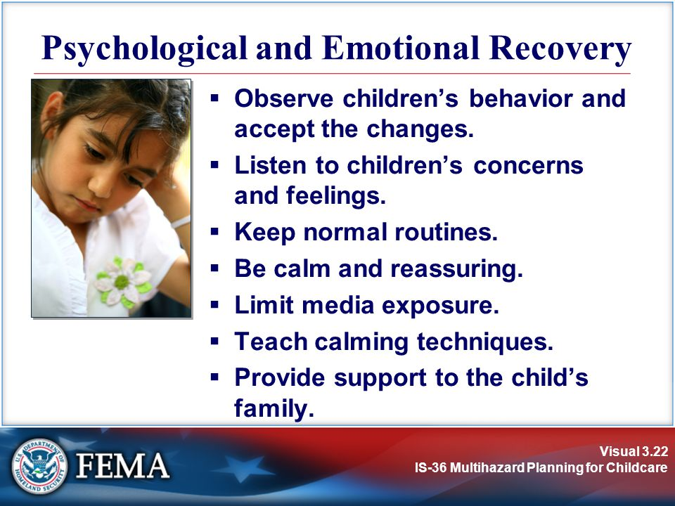 Psychological and Emotional Recovery