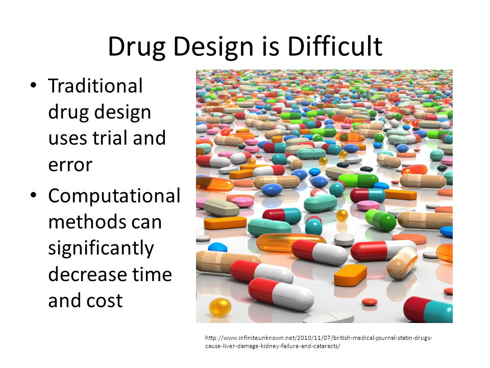 Drug Design is Difficult