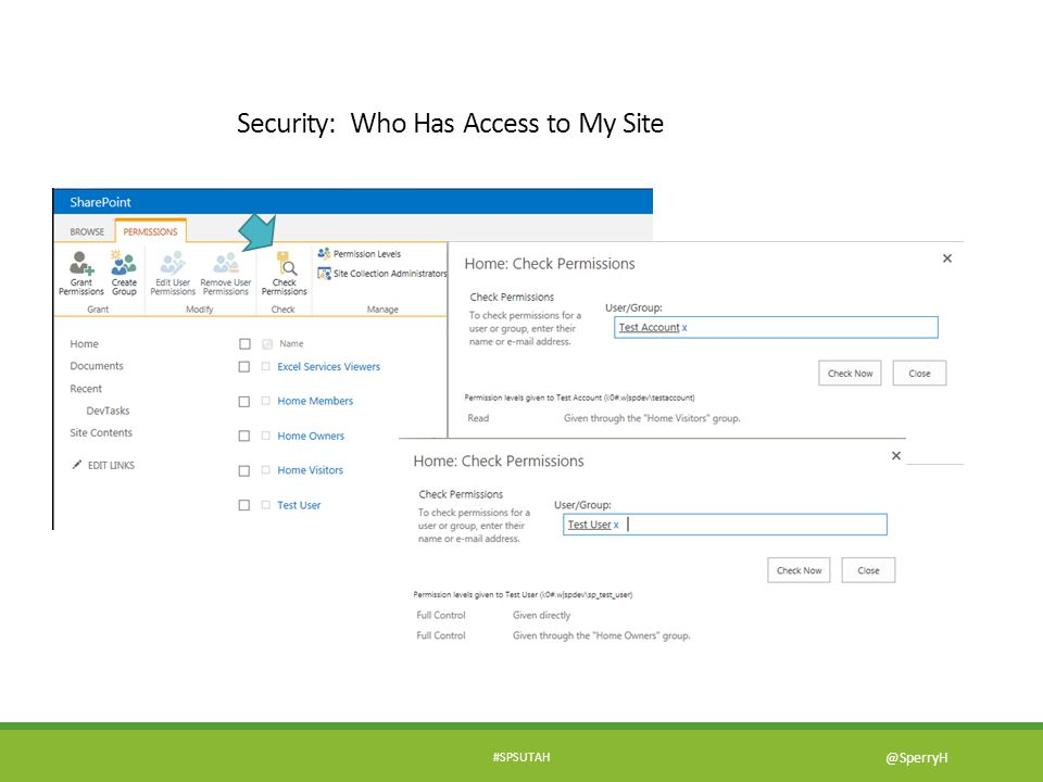 Security: Who Has Access to My Site