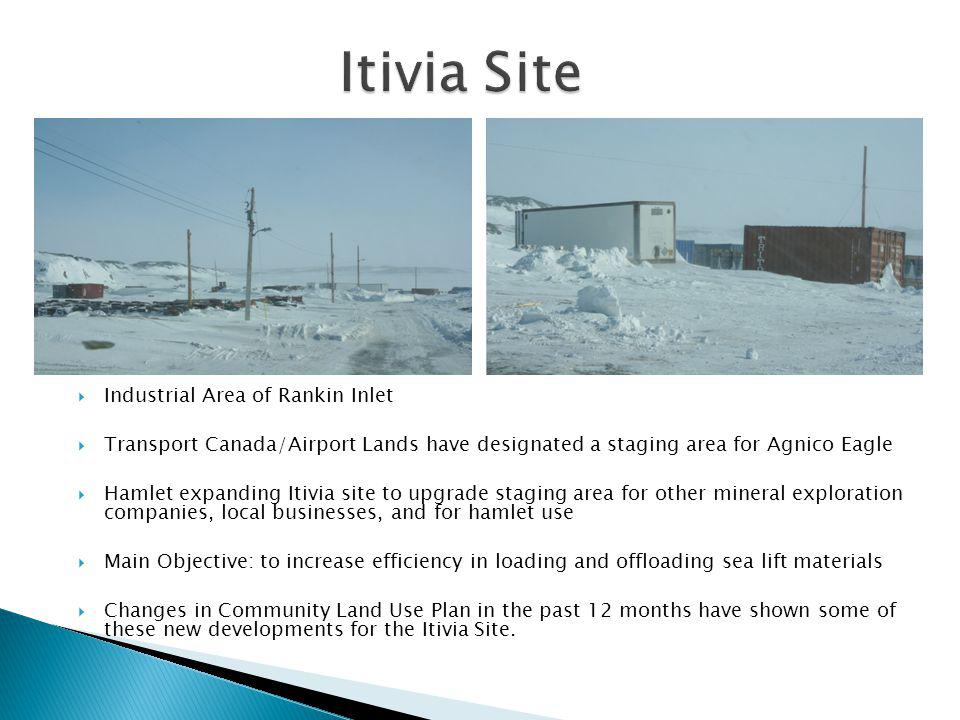 Itivia Site Industrial Area of Rankin Inlet