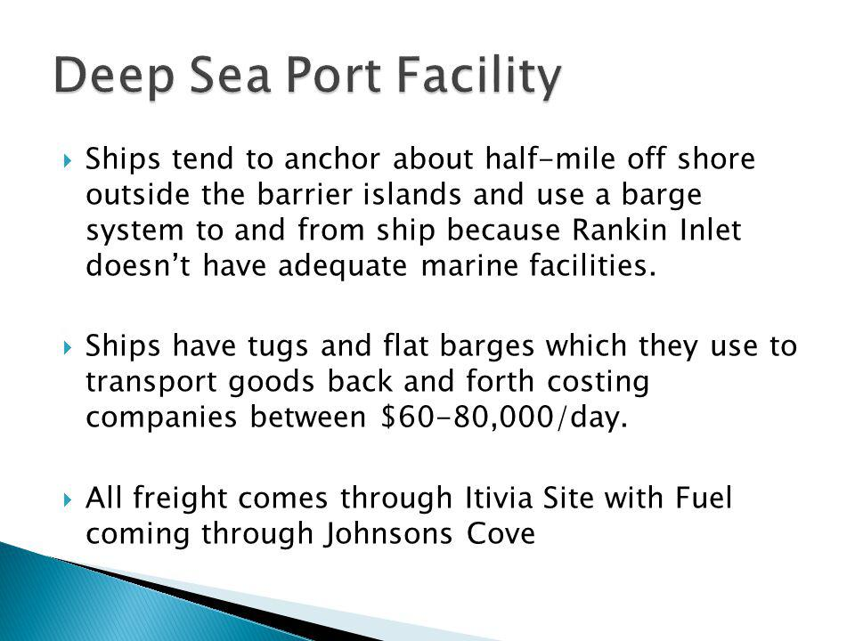 Deep Sea Port Facility