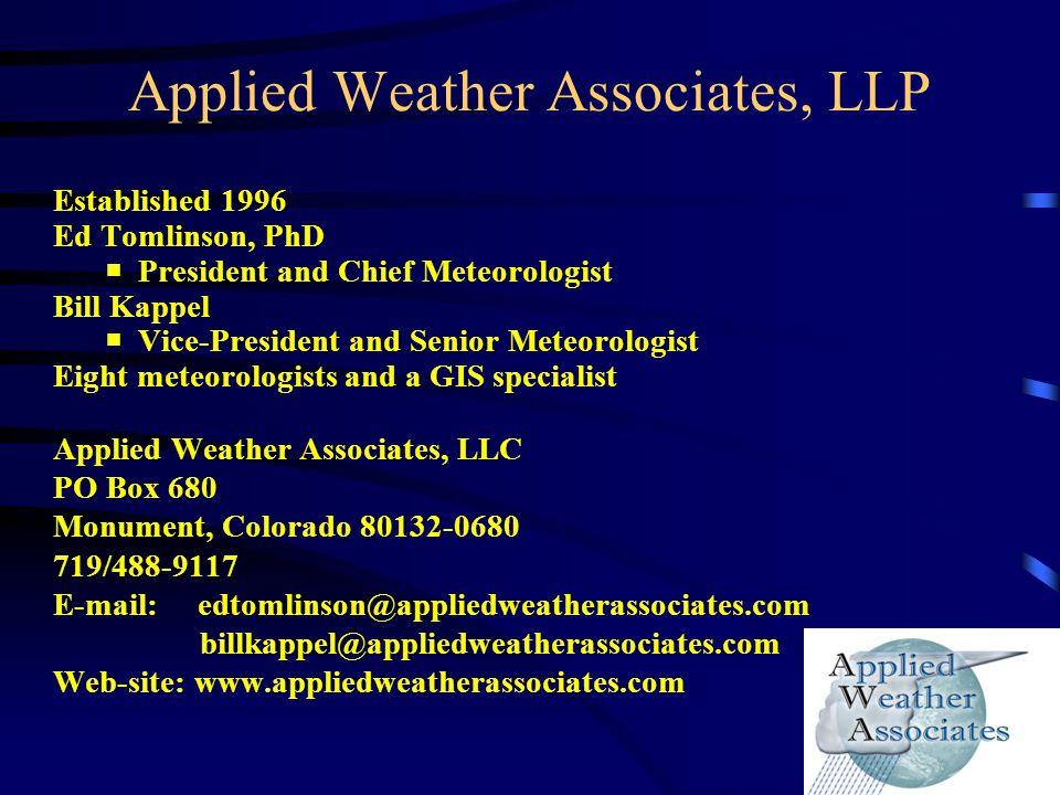 Applied Weather Associates, LLP