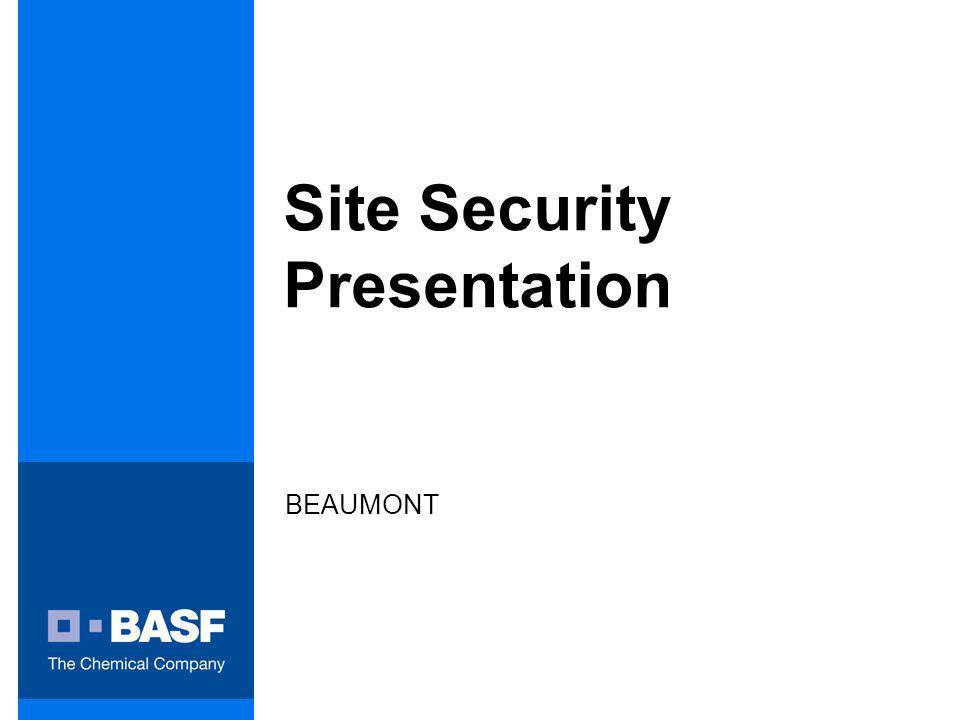 Site Security Presentation