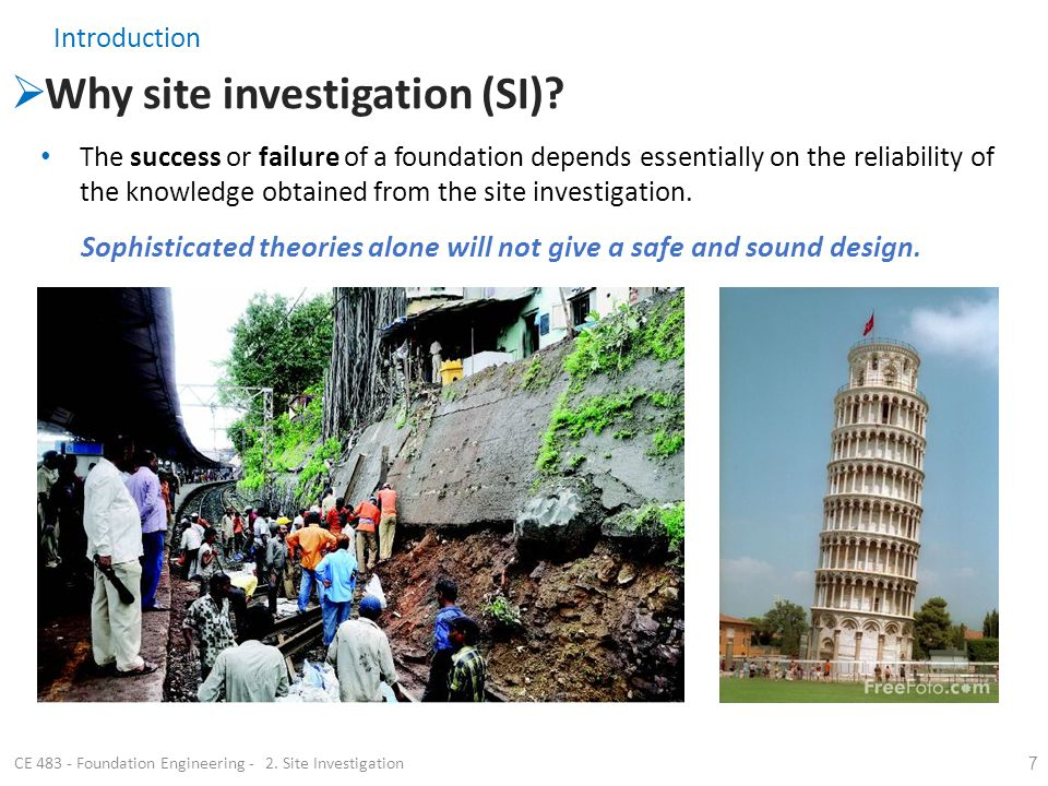 Site Investigation Services