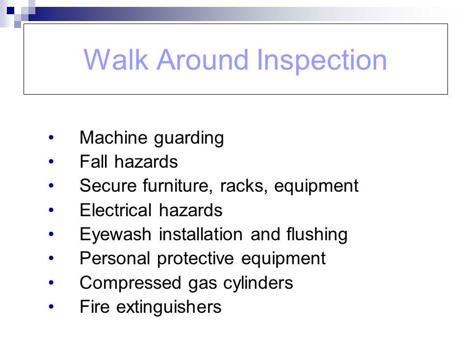 Walk Around Inspection