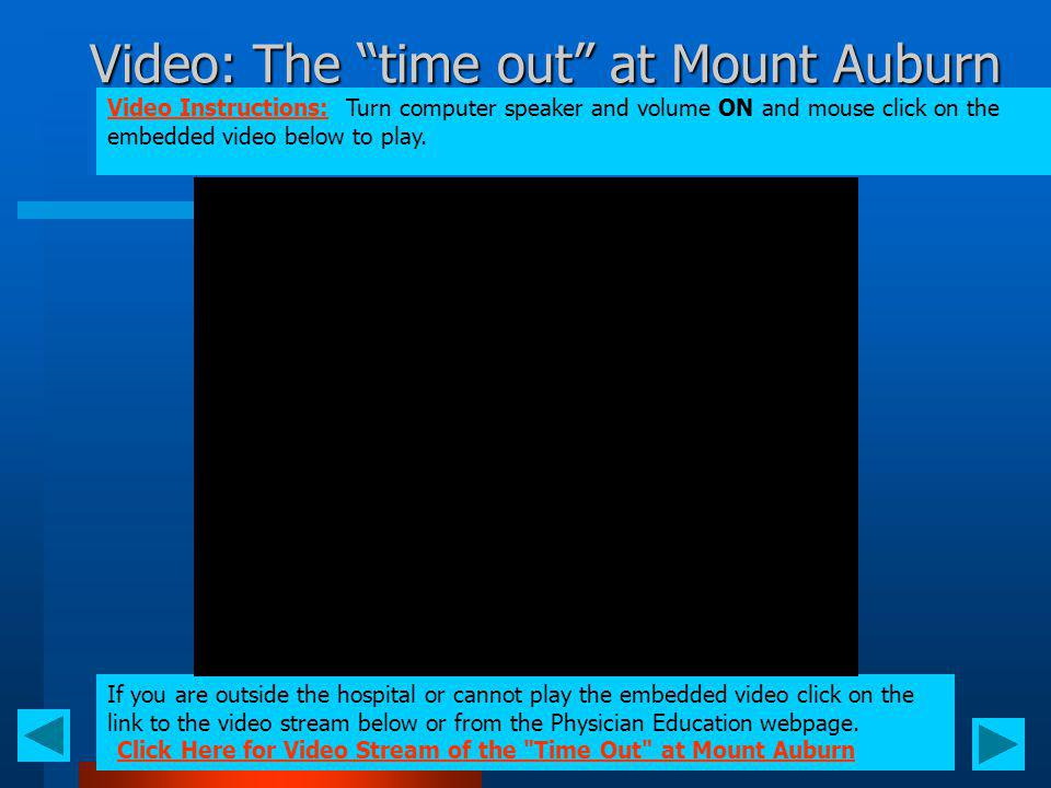 Video: The time out at Mount Auburn