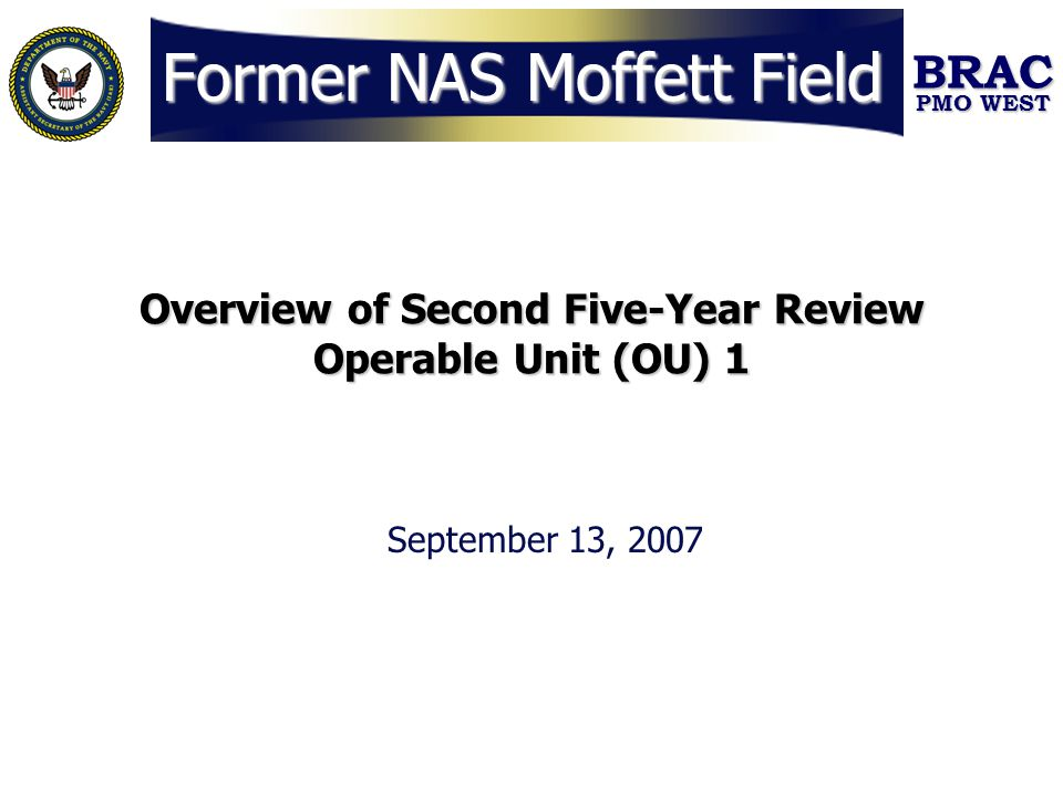 Former NAS Moffett Field
