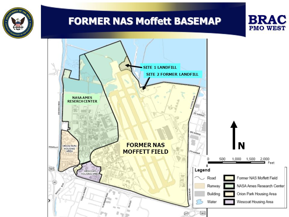 FORMER NAS Moffett BASEMAP