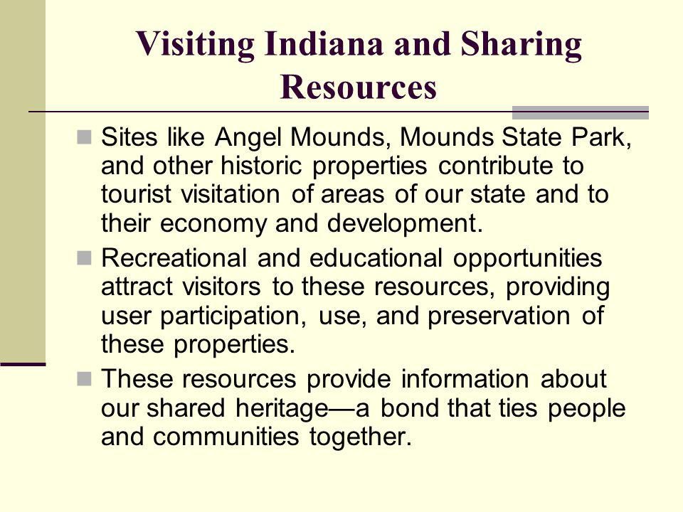 Visiting Indiana and Sharing Resources