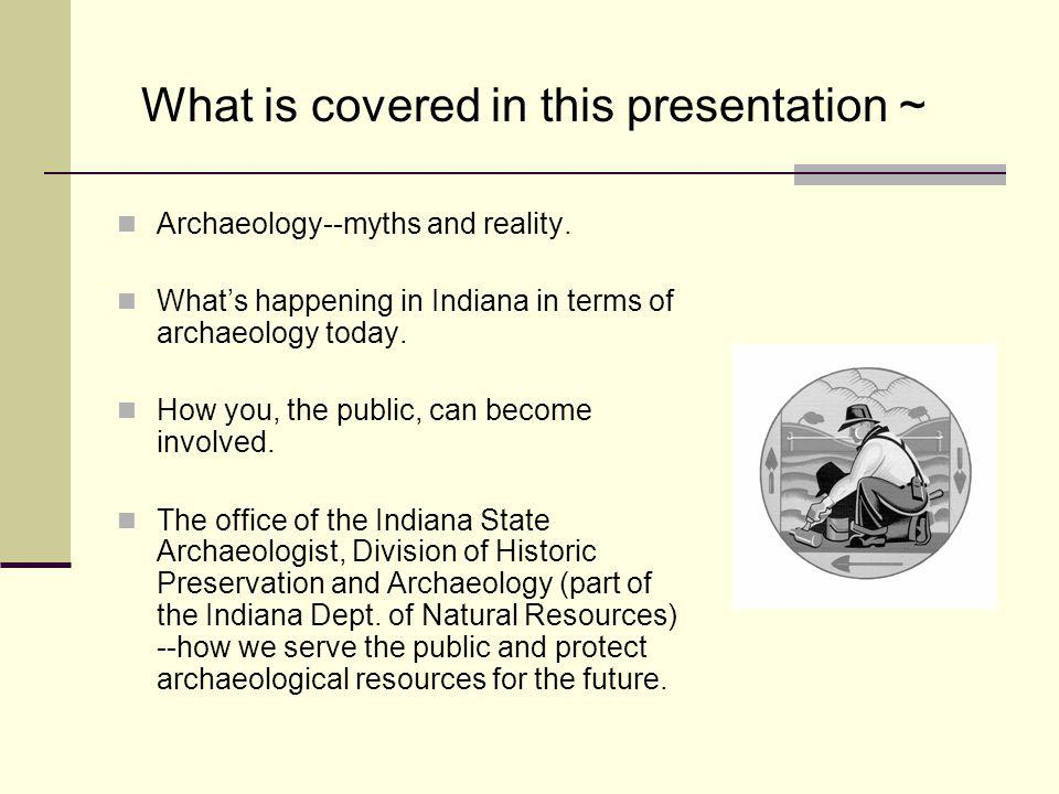 What is covered in this presentation ~