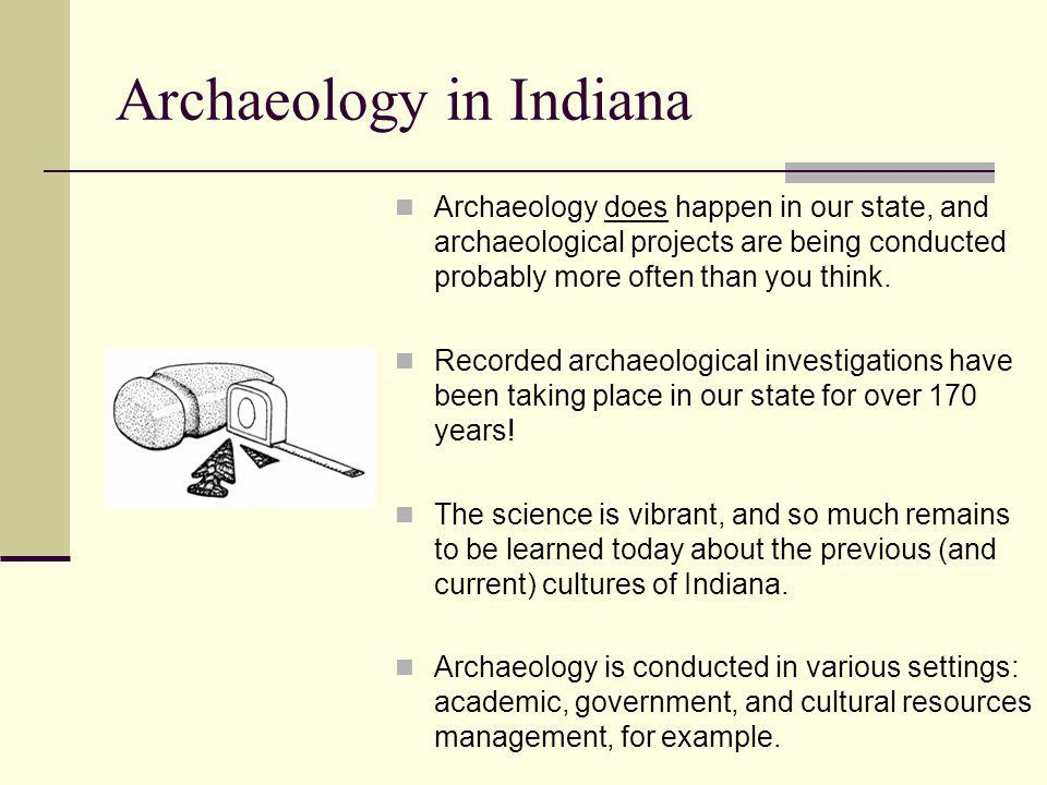 Archaeology in Indiana