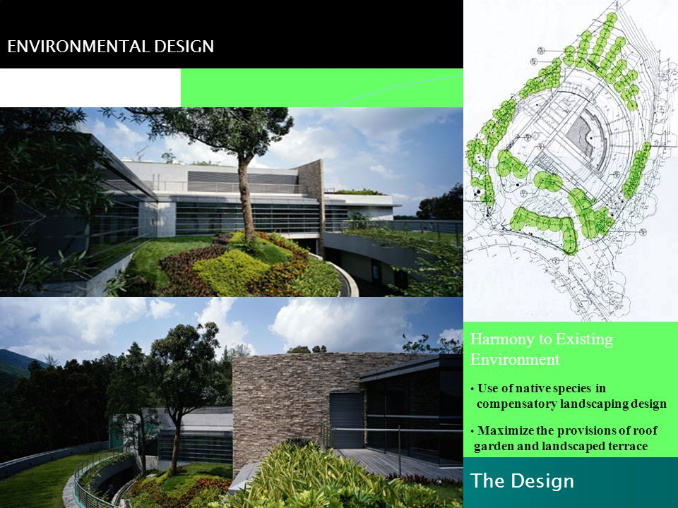 Ecological Impact The Design ENVIRONMENTAL DESIGN