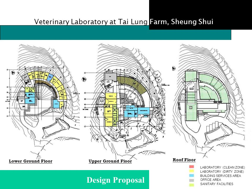 Design Proposal Veterinary Laboratory at Tai Lung Farm, Sheung Shui